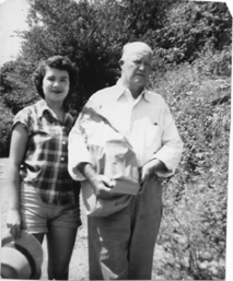 Ida and Matt Horn her uncle... about age 30