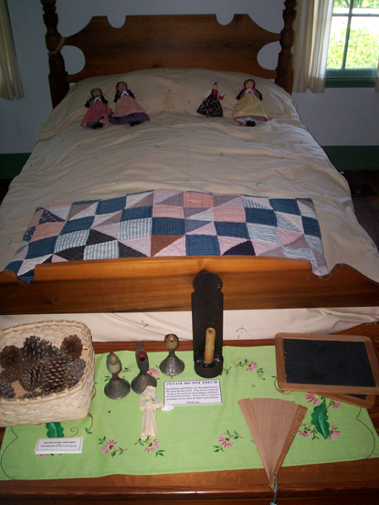 """A little girl's room - very few """"toys"""" - I loved it, so simple and pure as was the boy's room"""