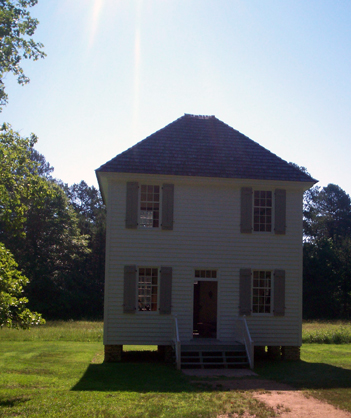 Meeting House at New Echota - where the council held meetings