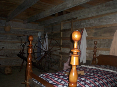 Inside a middle class Cherokee home... it was one large room
