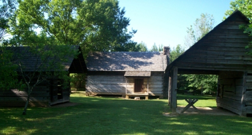 Middle class Cherokee family homestead