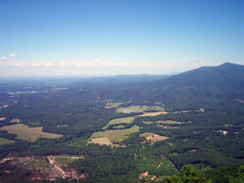 A start/end of the Appalachian Mountains