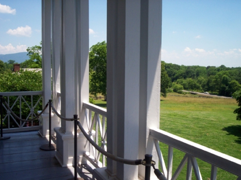 View from the third floor of The Vann House