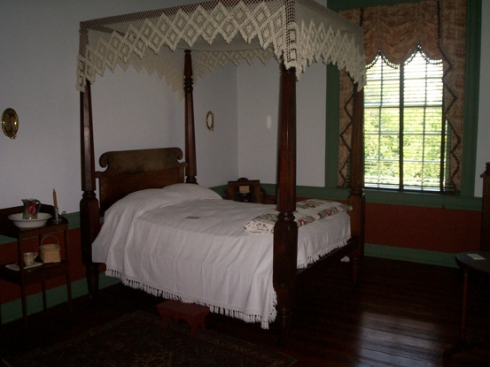 The woman's bedroom
