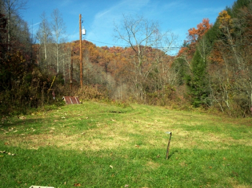 Hills Around the Cabin Last Fall 2008